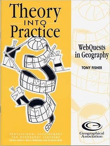 Ebook à téléchargement gratuit pour pc Webquests in Geography (Theory into Practice) en français PDF RTF 1843770504