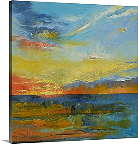 Amazon.com: Michael Creese Premium Thick-Wrap Canvas Wall Art Print ...