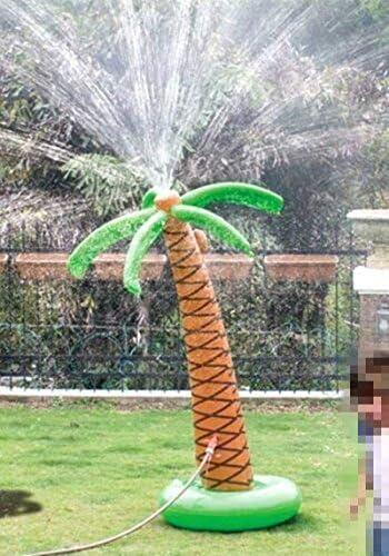 [スポンサー プロダクト]Cozyswan 噴水 椰子の木 ウオータスプレーインフレータブル 膨張式 子供おもちゃ ビーチおもちゃ ビーチボール  スイミング ビーチ プール