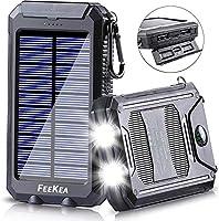 Solar Power Bank, 20000mAh Portable Sola...