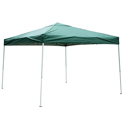 Etonnant Sundale Outdoor UV Protected Iron Outdoor Folding Canopy Instant Shelter  Foldable Tent Patio, Green