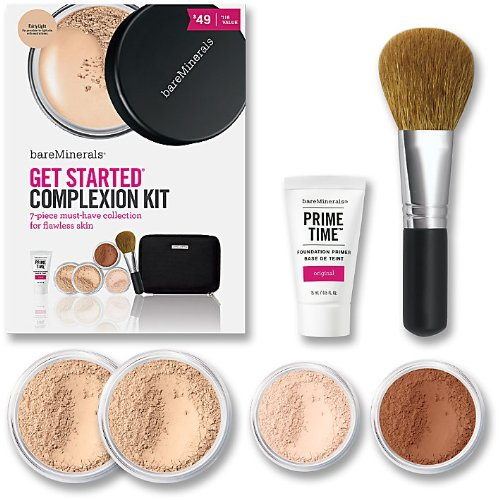 Bare Escentuals BareMinerals Get Started Complexion Kit, Fairly Light (Bare Mineral Get Started Kit)
