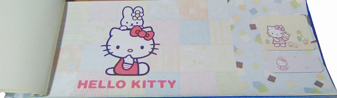 Fascia Hallo Kitty 3017b bordi per cameretta bambina 17.5cm x 10m in carta Coloratissima
