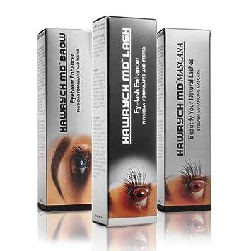 0872bdb1b59 Amazon.com: HAWRYCH MD Lash Brow and Mascara Enhancers Set 2, 5, 6 ml:  Beauty