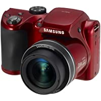 Samsung EC-WB110ZBARUS 20.2 Digital Camera with 26.0x Optical Image Stabilized Zoom with 3.0-Inch TFT LCD Screen (Red) Explained Review Image