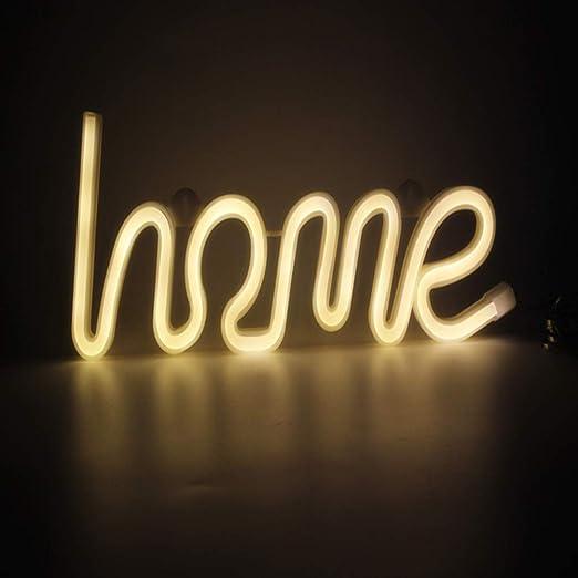Luci Al Neon Per Ufficio.Ledmomo Luci Al Neon Casa Lampada Da Tavolo Al Neon Luci