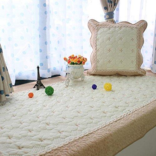 New Day-stuoie davanzale Breve Cuscino Peluche Moda fine - Floating Cuscini Finestra Balcone Finestra Mobile Mat Alta, 70  180cm