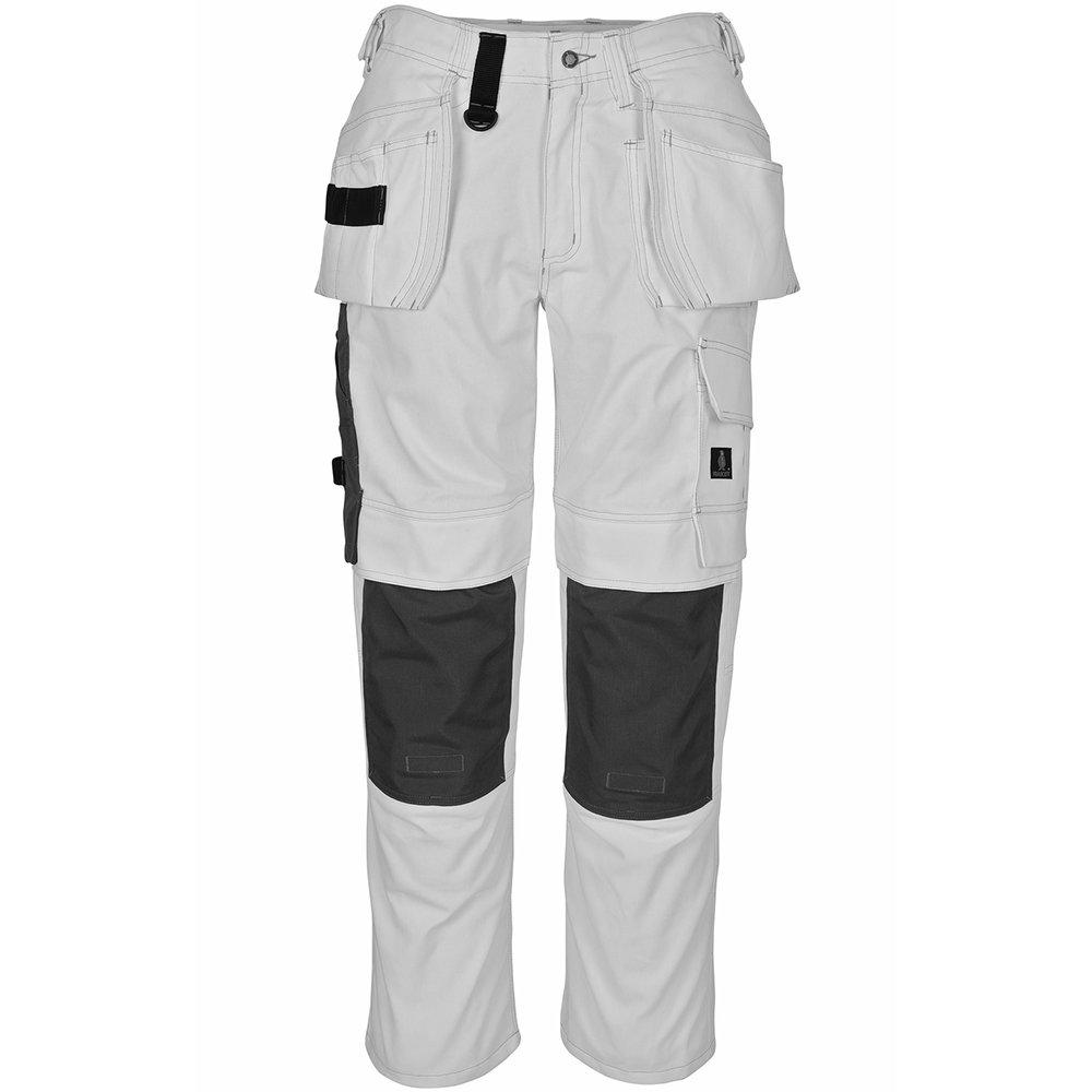 Mascot 08131-010-06-82C66''Ronda'' Craftsmen's Trousers, L82cm/C66, White