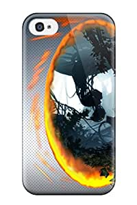Snap-on Portal Case Cover Skin Compatible With Iphone 4/4s