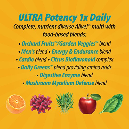 Nature S Way Alive Men S  Ultra Potency