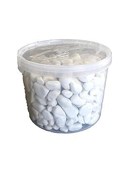 Gravier de décoration blanc, gris et blanc, de la dolomie galets ...