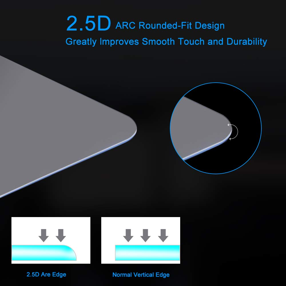 J/&D Compatible for 2016 2017 Honda Civic 7 inch Car Navigation Screen Protector 2016 2017 Honda Civic HD Clear Ballistic Glass Screen Protector for The EX EX-L EX-T /& Touring 1-Pack Tempered Glass