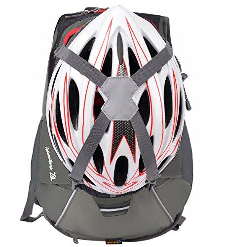 Amazon.com : MXKJ-STORE Cycling Backpack Biking Rucksack Riding Daypack Waterproof Drinking Helmet Bag 28L for Men Women Outdoor Sports Running Hiking ...