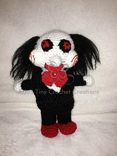 Saw Billy the Puppet Inspired Doll - Halloween Decoration - Jigsaw - Horror Movie - Horror Movie Doll - Halloween - Horror Collectible - Horror Movies - Saw - Scary (Scary Puppet Movies)