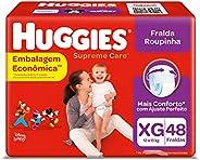 Fralda Huggies Supreme Care Roupinha XG - 48 fraldas
