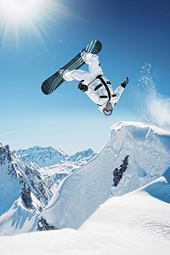 Snowboard Silk Poster 36x24 Inches