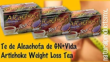 3 Cajas Te De Alcachofa to Help You Lose Weight Naturally Artichoke Weight Loss Tea by