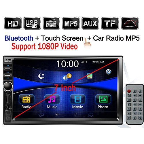 Regetek Double Din Car Radio Stereo, 7