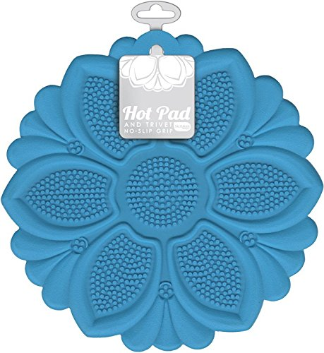 Talisman Designs No-Slip Grip Hot Pad, Pot Holder & Trivet,