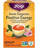 Yogi Tea, Sweet Tangerine Positive Energy, 16 Count (Pack of 6), Packaging May Vary