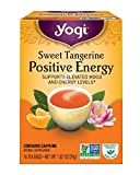 Yogi Sweet Tangerine Positive Energy, 16 Tea Bags, Packaging May Vary