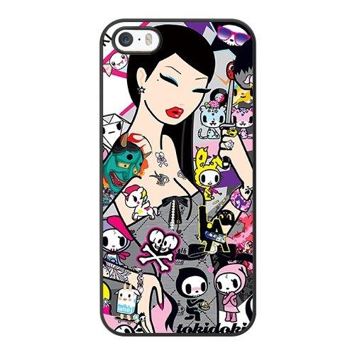 Coque,Apple Coque iphone 5/5S/SE Case Coque, Generic Tokidoki Cover Case Cover for Coque iphone 5 5S SE Noir Hard Plastic Phone Case Cover