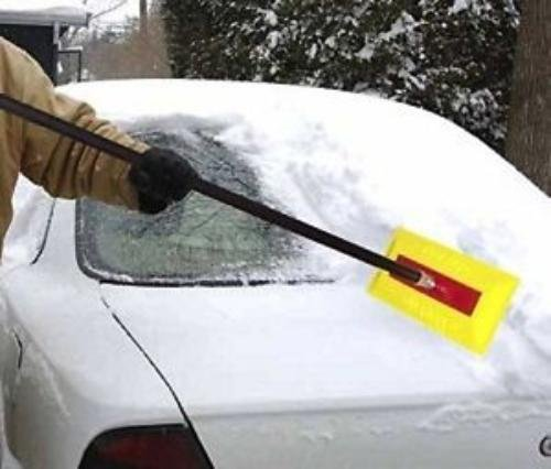 Soft Foam Snow Broom with Extended Handle ()
