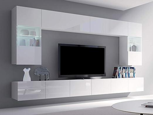 meble24shop – Mueble para salón, Armario o Pared para televisor, diseño de Cubo: Amazon.es: Juguetes y juegos