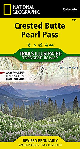 - Crested Butte, Pearl Pass (National Geographic Trails Illustrated Map)