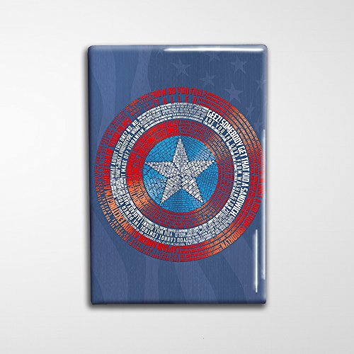 Captain America Decorative Art Magnet - - Jeremy Scott Suit