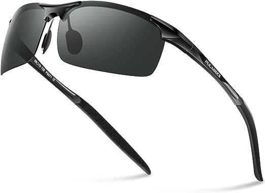 Pulabecs Men's Polarized Sports Sunglasses