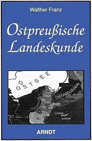 Ostpreussische Landeskunde Livre En Allemand 9783887411640