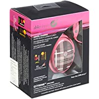 Able Planet XNC230 Extreme Foldable Noise Canceling Headphones (Pink Plaid)