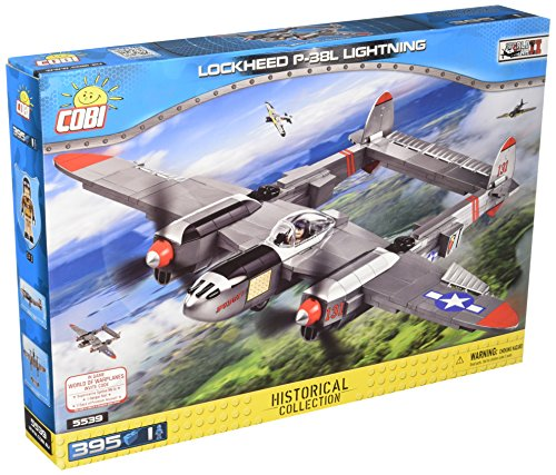 COBI Historical Collection Lockheed P-38 Lightning Plane