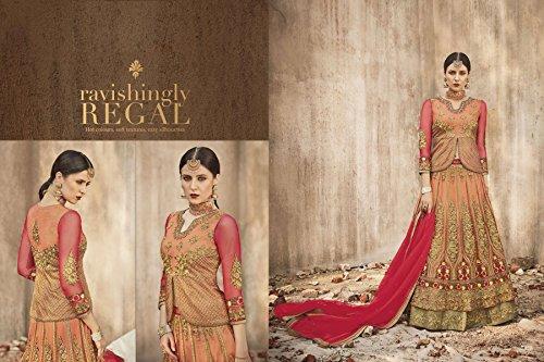 di progettista dal 807 si del misurare indiane donne del rete dal vestito vestito embrodiery la partito nozze vestono di salwar Le da personalizzato Anarkali tradizionali di xpYXRXU