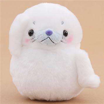 Muñeco de peluche foca blanca de Japón