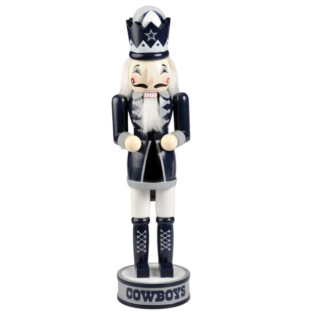 Dallas Cowboys Official NFL 14 inch 14'' Christmas Holiday Nutcracker