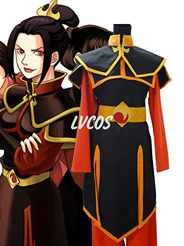 Custom Made Avatar Costumes (Avatar The Last Airbender Azula Cosplay Costume)