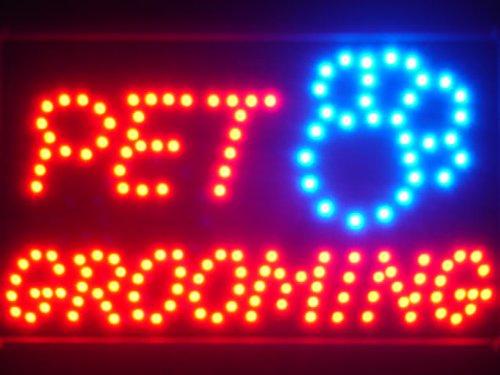 ADV PRO led011-r Pet Grooming Dog Shop LED Neon Light Sign