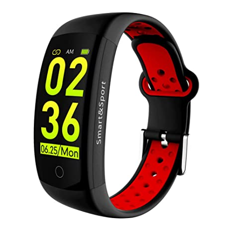 HOYHPK Ravi Q6S Reloj Inteligente Monitor De Presión Arterial De ...