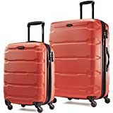 Samsonite Omni PC 2 Piece Set of 20 and 28 Spinner Burnt Orange