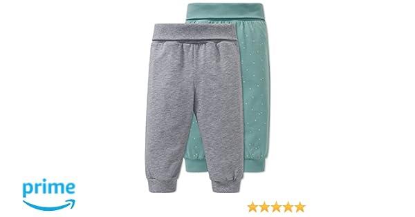 80 cm Pack de 2 Pantalones de Pijama Unisex beb/é, Sortiert 1 901 Schiesser 2pack Baby Hosen Lang