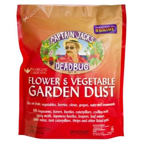 Fungicide Dust - Bonide Captain Jack's Deadbug Brew Dust 4 lb