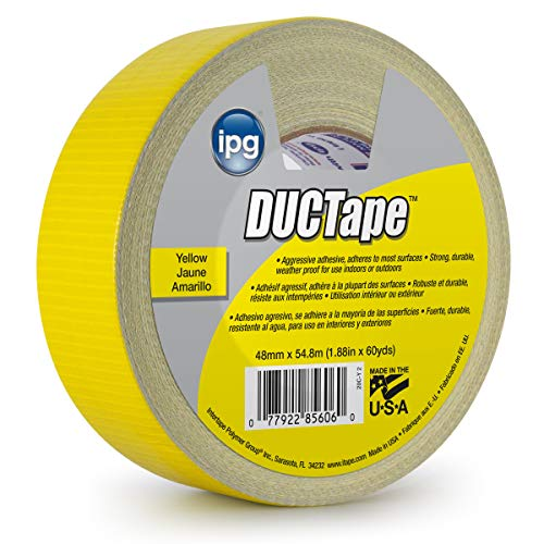 (IPG JobSite DUCTape, Colored Duct Tape, 1.88