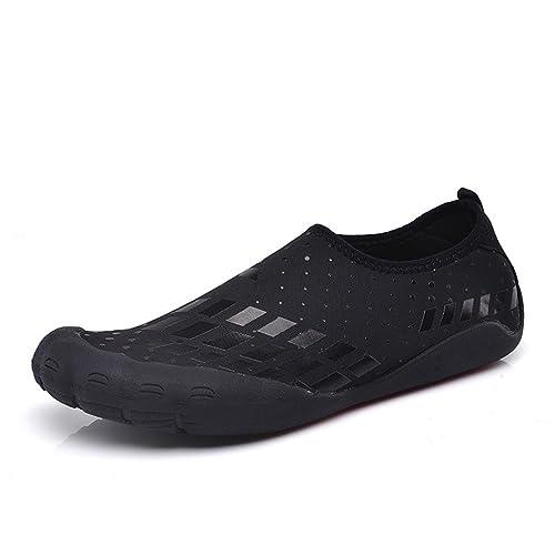 XIGUAFR - Zapatillas de Deportes de Exterior de Lona Hombre: Amazon.es: Zapatos y complementos