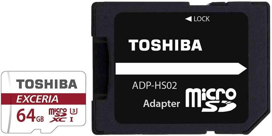 Amazon.com: Toshiba EXCERIA 64 GB microSDXC - Class 10/UHS-I ...