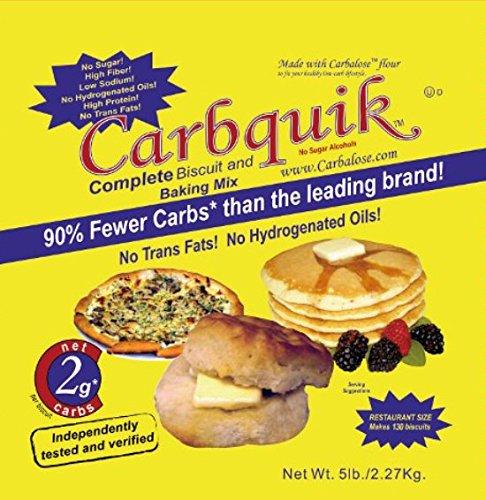 Amazon.com : Carbalose Flour, 3 lb. bag : Wheat Flours And