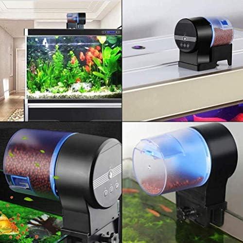 Auto alimentador de peces en acuario temporización inteligente 7