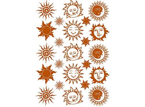 Sun Moon 23 pcs 1/2