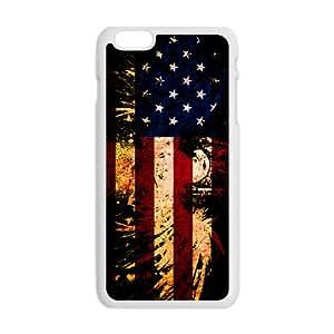 ORIGINE American Flag USA Bald Eagle Cell Phone Case for Iphone 6 Plus